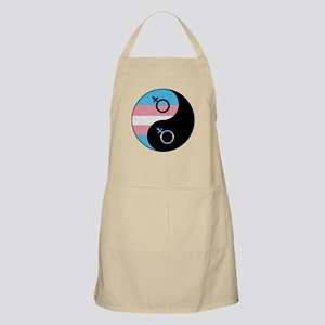 Transgender Yin and Yang Apron