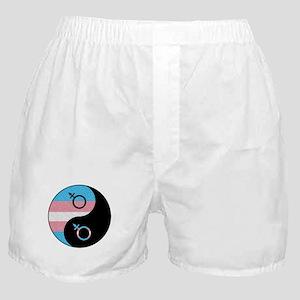Transgender Yin and Yang Boxer Shorts