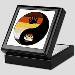 Bear Yin and Yang Keepsake Box