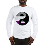 Asexual Yin and Yang Long Sleeve T-Shirt