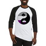 Asexual Yin and Yang Baseball Jersey
