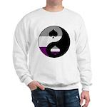 Asexual Yin and Yang Sweatshirt