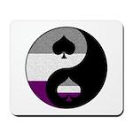 Asexual Yin and Yang Mousepad