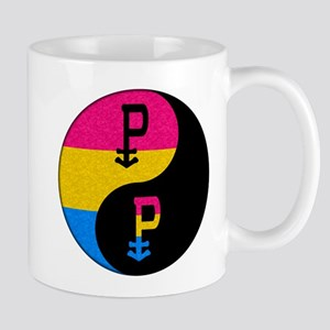 Pansexual Yin and Yang Mug