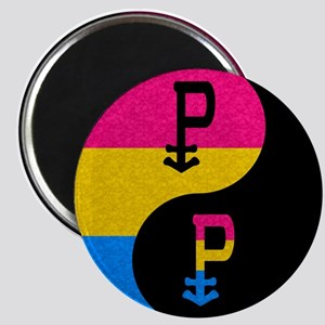 Pansexual Yin and Yang Magnet