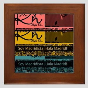 RighOn Madridista Framed Tile