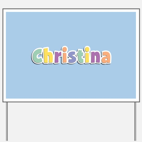 Christina Spring14 Yard Sign