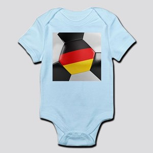 Germany Soccer Ball Infant Bodysuit