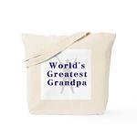 World's Greatest Grandpa... Tote Bag
