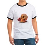 Skull and Red Rose T-Shirt