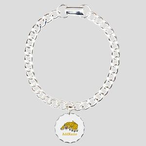 Tiger Roar Custom Charm Bracelet, One Charm