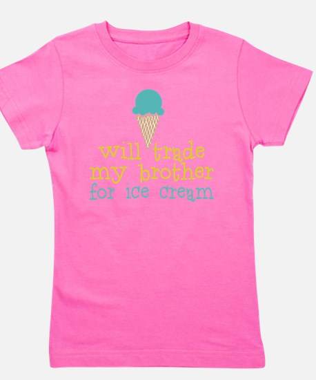 Trade Brother Ice Cream Girl's Tee