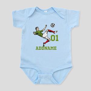 Customizable Soccer Infant Bodysuit