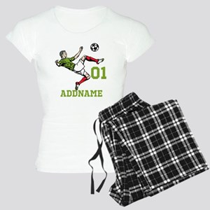 Customizable Soccer Women's Light Pajamas