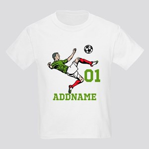 Customizable Soccer Kids Light T-Shirt