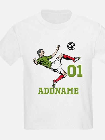 Customizable Soccer T-Shirt