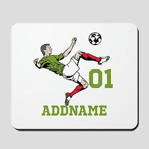 Customizable Soccer Mousepad