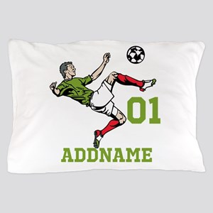 Customizable Soccer Pillow Case