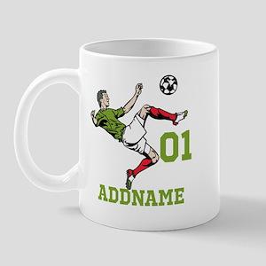 Customizable Soccer Mug Mugs