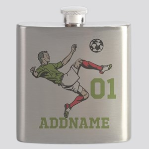 Customizable Soccer Flask
