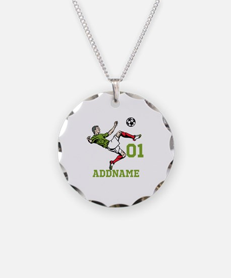 Customizable Soccer Necklace