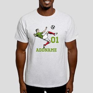 Customizable Soccer Light T-Shirt