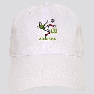Customizable Soccer Cap