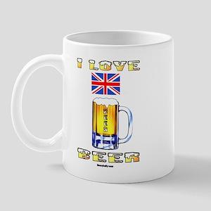 British Beer Mug