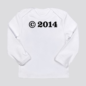Copyright 2014 Long Sleeve Infant T-Shirt