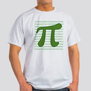 Pi Numbers Light T-Shirt
