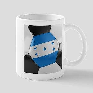 Honduras Soccer Ball Mug