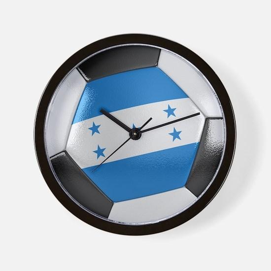 Honduras Soccer Ball Wall Clock