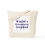World's Greatest Stepdad Tote Bag