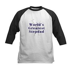 World's Greatest Stepdad Kids Baseball Jersey