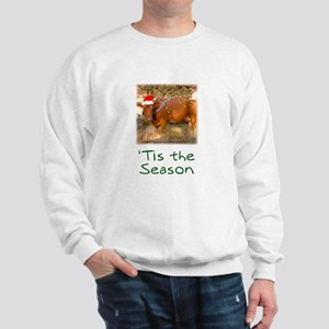 Cow Christmas Sweatshirt