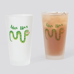 Hiss Hiss Snake Drinking Glass
