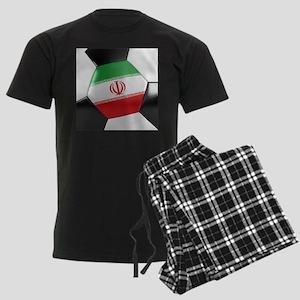 Iran Soccer Ball Men's Dark Pajamas