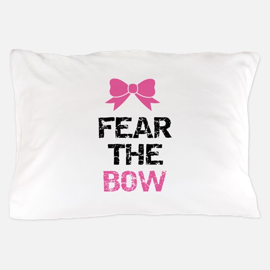 Fear the bow Pillow Case