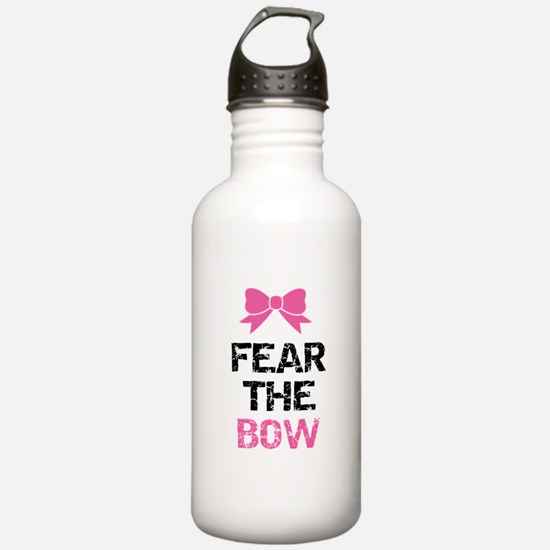 Fear the bow Sports Water Bottle