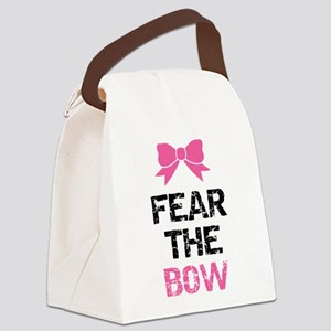 Fear the bow Canvas Lunch Bag