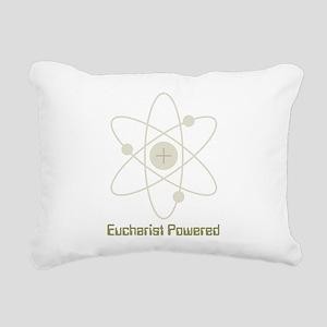 Eucharist Powered Rectangular Canvas Pillow
