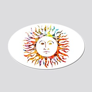 Sunface Wall Decal