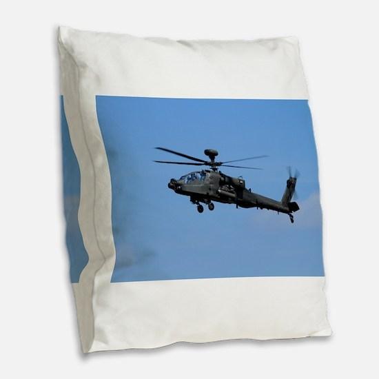 Apache Burlap Throw Pillow