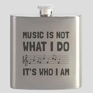 Music Who I Am Flask