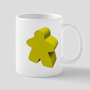 Yellow Meeple Mugs