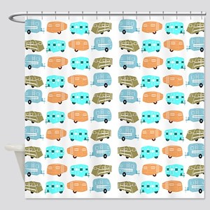 Rambling RVs Shower Curtain