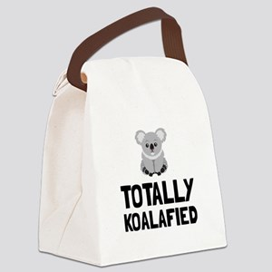 Totally Koalafied Canvas Lunch Bag