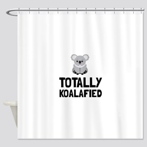 Totally Koalafied Shower Curtain