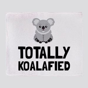 Totally Koalafied Throw Blanket