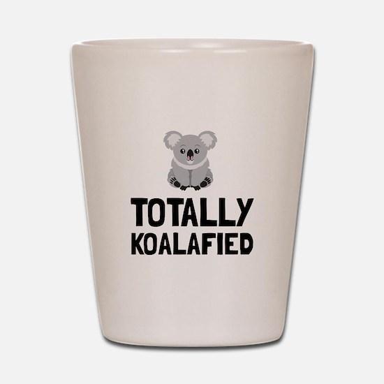 Totally Koalafied Shot Glass